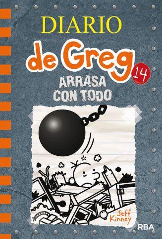 DIARIO DE GREG 14. ARRASA CON TODO (MOLINO)