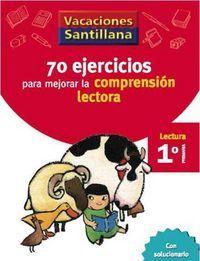70 EJERCICIOS PARA MEJORAR LA COMPR. LECTORA 1º EP