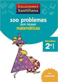 100 PROBLEMAS PARA REPASAR MATEMÁTICAS 2º EP