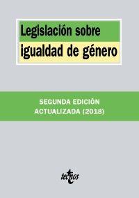LEGISLACIÓN SOBRE IGUALDAD DE GÉNERO. EDICIÓN 2018