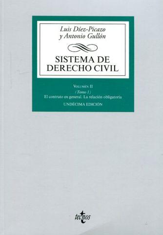 SISTEMA DE DERECHO CIVIL VOL.II TOMO 1.  2016