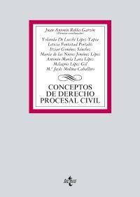 CONCEPTOS DE DERECHO PROCESAL CIVIL 2017 (TECNOS)