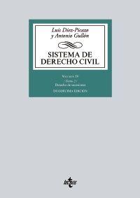 SISTEMA DE DERECHO CIVIL VOL.IV TOMO 2. 2017