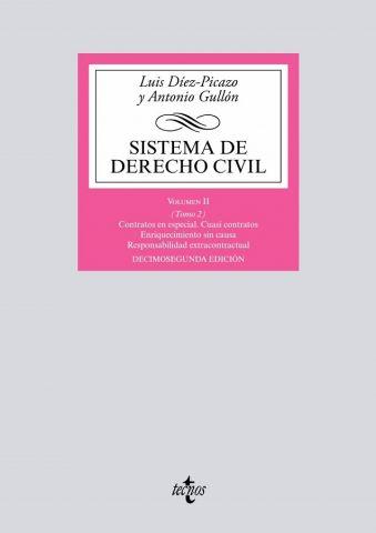SISTEMA DE DERECHO CIVIL VOL.II TOMO 2.  2018