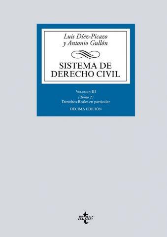 SISTEMA DE DERECHO CIVIL VOL.III TOMO 2. 2019