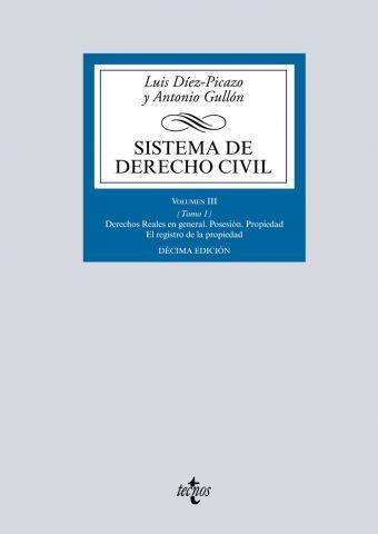 SISTEMA DE DERECHO CIVIL VOL.III TOMO 1. 2019