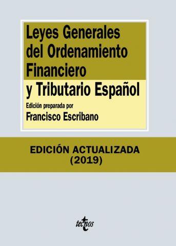 LEYES GRALS. DEL ORDENAMIENTO FINANCIERO ED. 2019