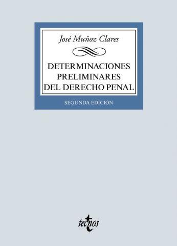 DETERMINACIONES PRELIMINARES DEL D. PENAL ED. 2020