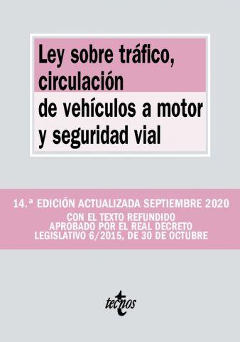 LEY SOBRE TRÁFICO, CIRCULAC. DE VEHÍCULOS ED. 2020