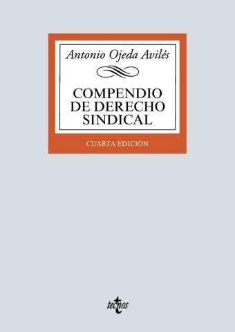 COMPENDIO DE DERECHO SINDICAL ED. 2020 (TECNOS)