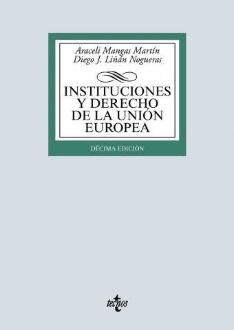 INSTITUCIONES Y DERECHO DE LA U. EUROPEA ED. 2020