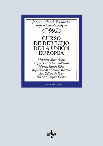 CURSO DE DERECHO DE LA UNIÓN EUROPEA 2020 (TECNOS)