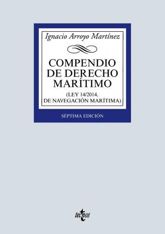 COMPENDIO DE DERECHO MARÍTIMO ED. 2020 (TECNOS)