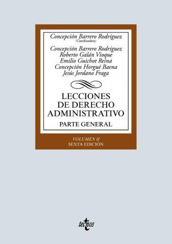 LECCIONES DE D. ADMINISTRATIVO VOL. II ED. 2020