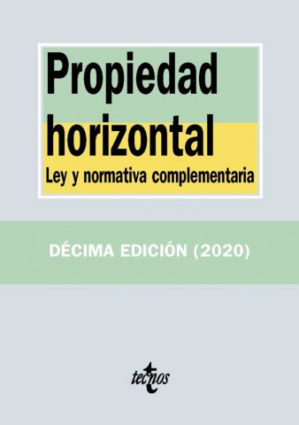 PROPIEDAD HORIZONTAL ED. 2020 (TECNOS)