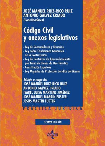 CÓDIGO CIVIL Y ANEXOS LEGISLÁTIVOS ED. 2020