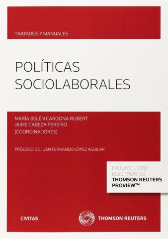 MANUEL DE POLÍTICAS SOCIOLABORALES (DUO) (CIVITAS)