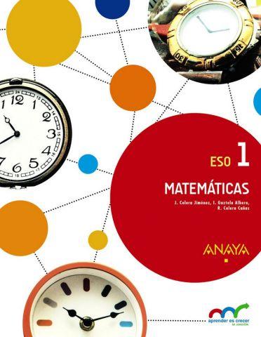 MATEMÁTICAS 1º E.S.O. ANDALUCÍA 2016 (ANAYA)