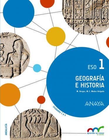 GEOGRAFÍA E HISTORIA 1ºE.S.O. TRIMESTRAL ANDALUCÍA