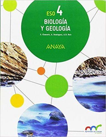 BIOLOGÍA Y GEOLOGÍA 4º E.S.O. ANDALUCÍA 2017 (ANAY