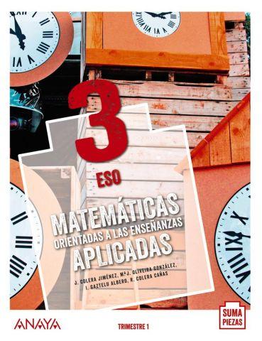 (ANAYA) MATEMATICAS APLICADAS 3ºESO AND.20 TRIMEST