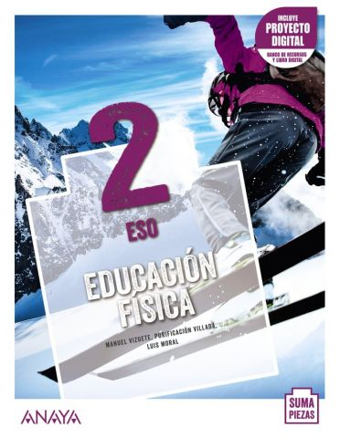 (ANAYA) EDUCACION FISICA 2º ESO SUMA PIEZASA ND.21