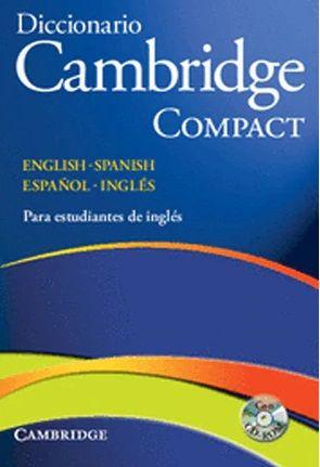 DICCIONARIO CAMBRIDGE COMPACT BILINGÜE (CAMBRIDGE)