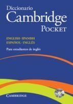 DICCIONARIO CAMBRIDGE POCKET ENGLISH-SPANISH ESPAÑ