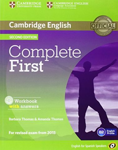 COMPLETE FIRST. WORKBOOK WITH ANSWERS