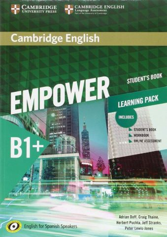 CAMBRIDGE ENGLISH EMPOWER B1+STUDENT'S BOOK AND WB