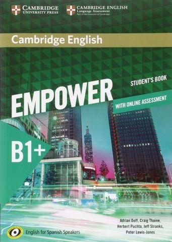 EMPOWER B1+ STUDENT'S BOOK (CAMBRIDGE)