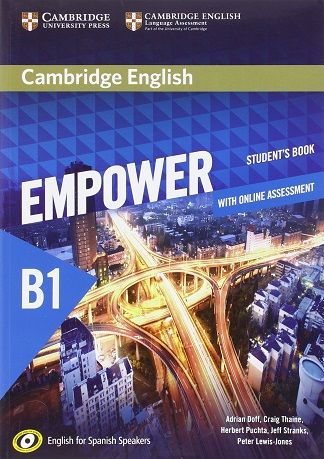 EMPOWER B1 STUDENT'S BOOK (CAMBRIDGE)