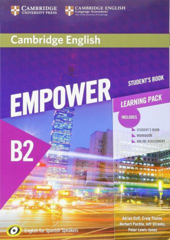 CAMBRIDGE ENGLISH EMPOWER B2 STUDENT'S BOOK AND WB