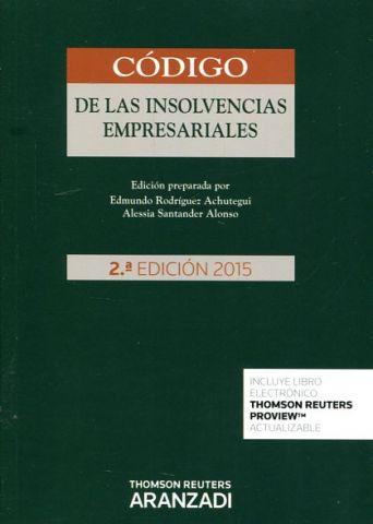 CÓDIGO DE LAS INSOLVENCIAS EMPRESARIALES 2ª EDICIÓ