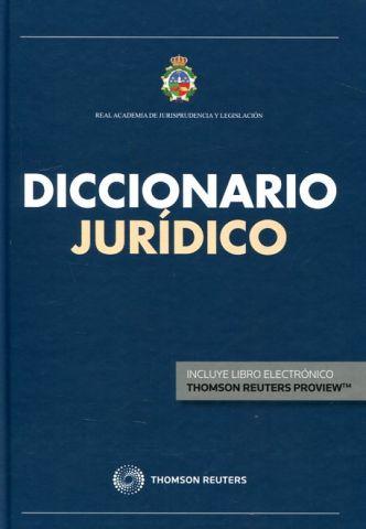 DICCIONARIO JURÍDICO (DUO) 2016 (ARANZADI)
