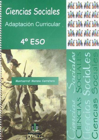 (ALJIBE) CIENCIAS SOCIALES 4º ESO ADAPT.CURRICULAR
