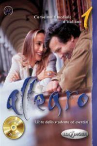 ALLEGRO 1 LIBRO DELLO STUDENTE ED ESERCIZI (LIBRO+