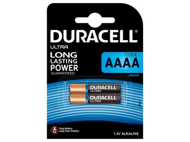DURACELL AAAA  2 PILAS ULTRA POWER LR8D425