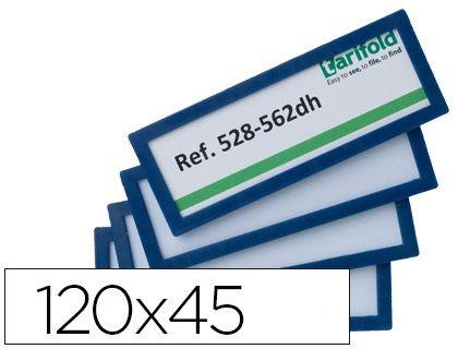 PACK.4 MARCOS PORTANOMBRE 120X45MM - AZUL