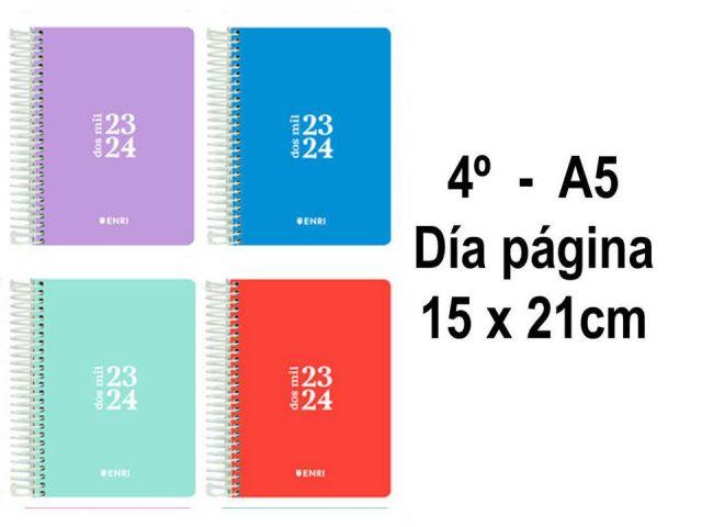 ENRI AGENDA ESCOLAR 4º TAPA PP DIA PAG. 2021/2022