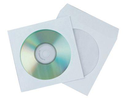 PACK. 50 SOBRES  VENTANA PP C/SLP. CD  KF02206