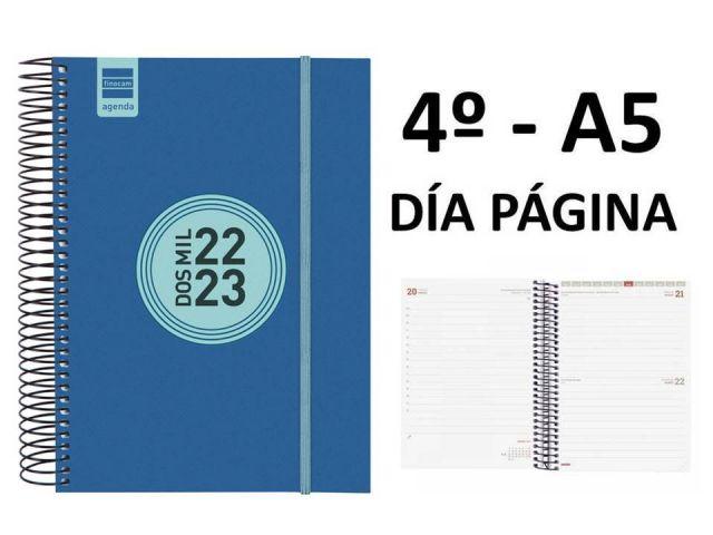 FINOCAM AGENDA ESCOLAR 4º E10 PP AZ. DIA PAG 21/22