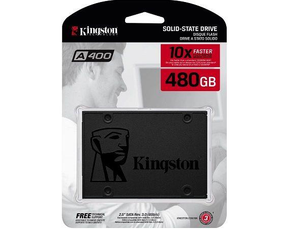 DISCO SOLIDO SSD KINGSTON 480GB SATA3 2.5 SA400S37