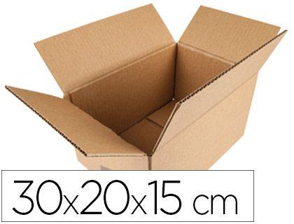 (PACK.10 ) CAJAS EMBALAJE CARTON 30x20x15cm