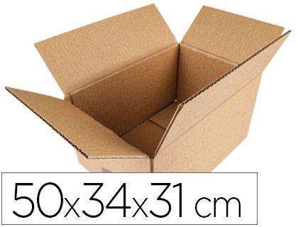 (PACK.10 ) CAJAS EMBALAJE CARTON 50x34x31cm