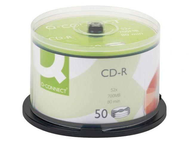 BOBINA 50 CD-R 700MB Q.CONNECT