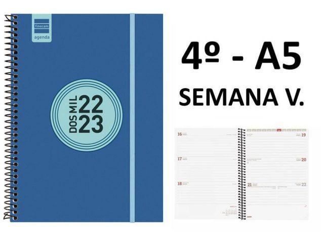 FINOCAM AGENDA ESCOLAR 4º TAPA PP AZ S.VISTA 21/22
