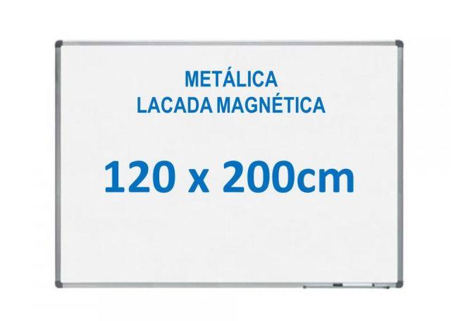 ROCADA PIZARRA BLANCA MAGNÉT.120X200 LACADA RD6411