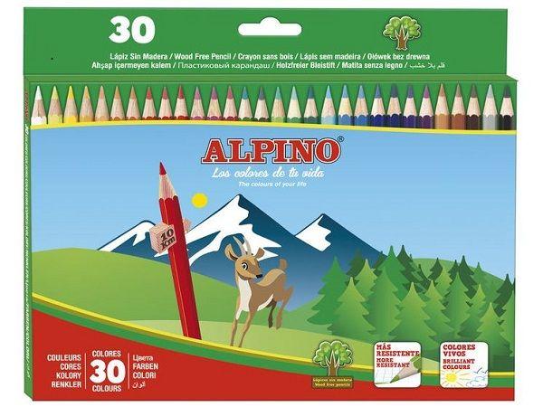 ALPINO ESTUCHE CARTON 30 LAPICES AL010659