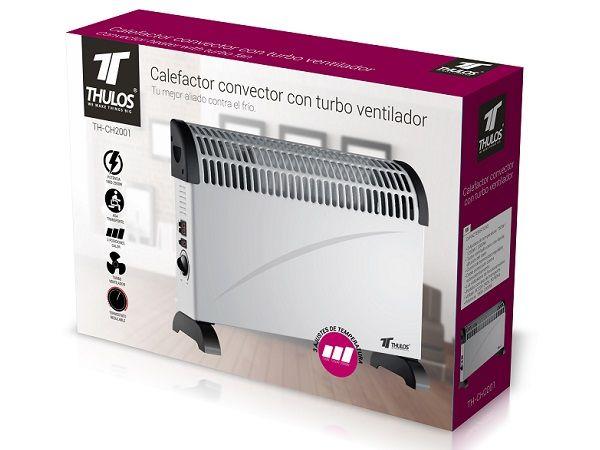 THULOS CALEFACTOR CONVECTOR  TH-CH2001 3 POS.